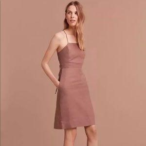 856127ef6a8 Aritzia Dresses - Aritzia Wilfred Nude linen dress sz 10 NWT